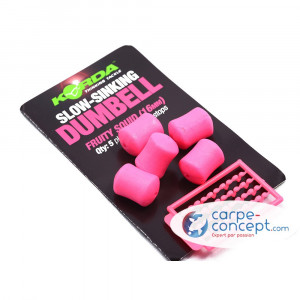 KORDA Appâts artificiels Slow Sinking Dumbell Fruity Squid (16 mm)