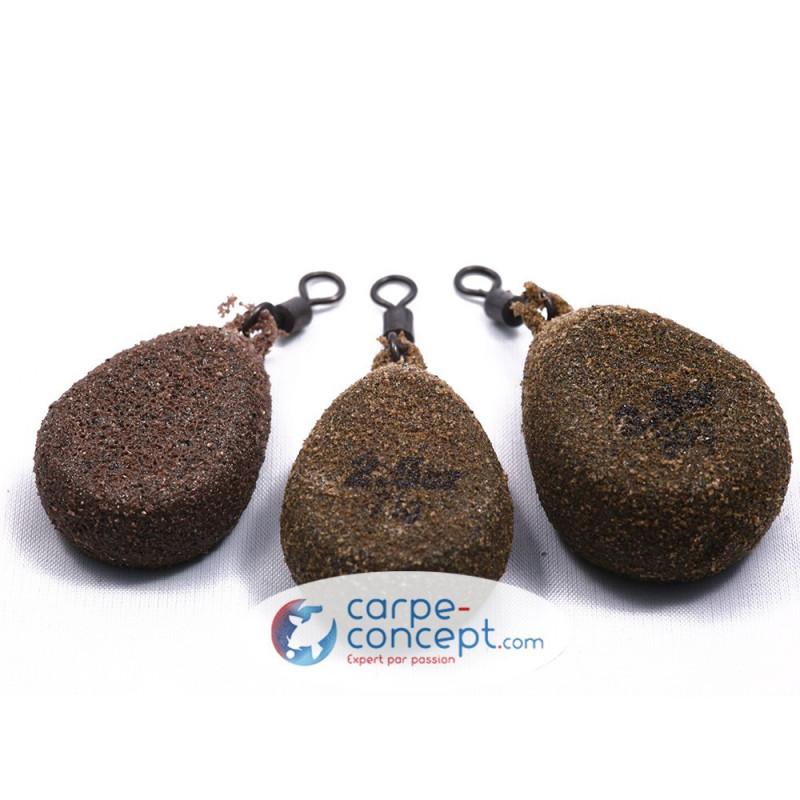 KORDA Flat pear Swivel textured